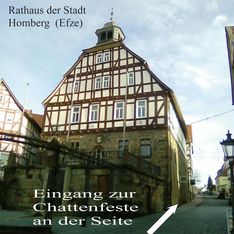 Rathaus mit Burg der Schlaraffen Zur Hohenburg